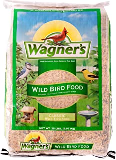 Wagner's 52004 Classic Wild Bird Food, 20-Pound Bag, Green