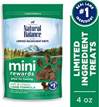 Natural Balance Mini Rewards Dog Treats, 4 Ounce