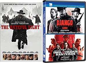 Eight Basterds Hateful Django Inglorious unchained [DVD] Quentin Tarantino Set Triple Feature 3 movie set