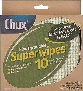 Chux Chux Biodegradable Superwipes 10 pk, 0.115 kilograms, Pack of 10