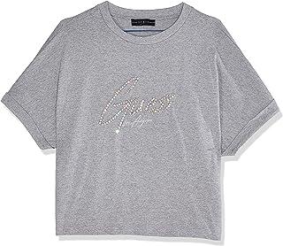 GUESS Women's Short Sleeve Crew Neck Marlene Tee T-Shirts