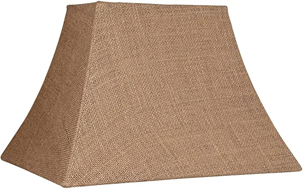 Natural Burlap Rectangle Lamp Shade 5 8x11 14x10 Spider Brentwood