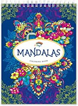 Mandalas Coloring Book by Colorya