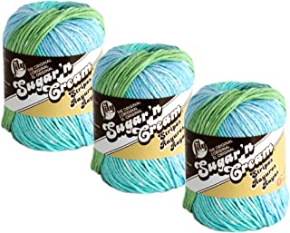 Bulk Buy: Lily Sugar 'n Cream 100% Cotton Yarn (3-Pack) Ombres, Prints, Scents & Stripes 3-Pack 102021-21143
