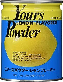 Yours (Japan) Lemon Flavored Powder, 5.2 oz.