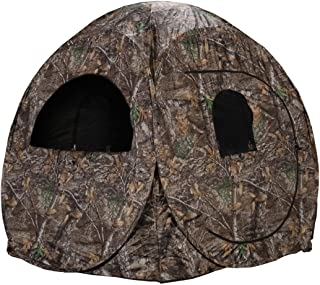 Person Hunting Ground Blind, Realtree Edge