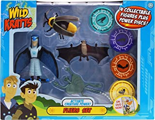 Wild Kratts - Activate Creature Power - 4-Pack Action Figure Set - Fliers