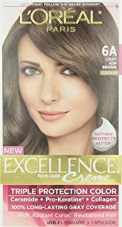 L'Oreal Excellence #6A Ash Brown Hair Color, 1 ct