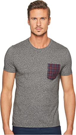 Original Penguin - Short Sleeve Gingham Pocket Tee