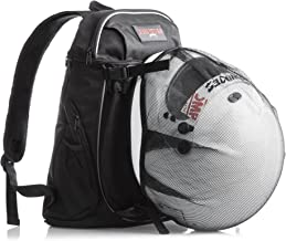 Reflective Motorcycle Helmet Backpack: Lightweight Commuter or Carry On Day Bag for Men, Women, Students, Travel. Padded Laptop Area. Riding, School, Cycling, Sports. New Stronger Seams & Buckles