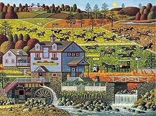 Buffalo Games - Charles Wysocki - Foxy Fox Outfoxes The Fox Hunters - 1000 Piece Jigsaw Puzzle