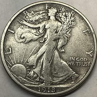 1918 half dollar s