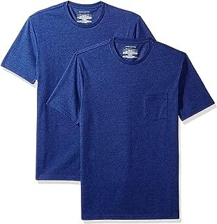 Amazon Essentials Men's 2-Pack Slim-Fit Crew Pocket T-Shirt