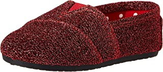 DAWGS Girls Kaymann Frost Slip On Loafers, Red Frost, Size 5 M Toddler US