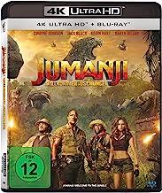 Jumanji: Willkommen im Dschungel (4K UHD BD-2) [Blu-Ray] [Import]