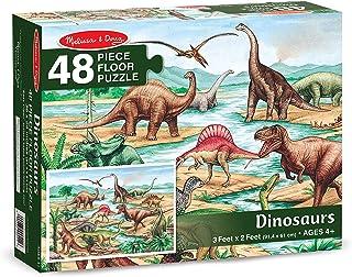 Melissa & Doug Dinosaurs Floor Puzzle (48 pc)
