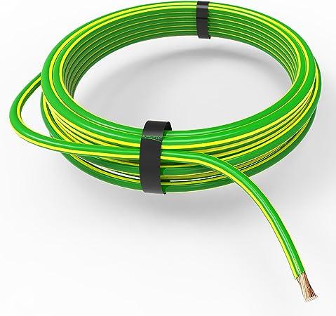 AUPROTEC Fahrzeugleitung 35,0 mm/² Kfz Kabel 1m 10m schwarz 5m oder 10m Auswahl