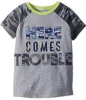 Camo Trouble Short Sleeve Shirt (Infant/Toddler)