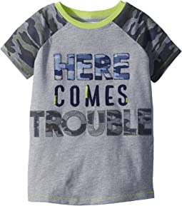 Mud Pie - Camo Trouble Short Sleeve Shirt (Infant/Toddler)