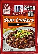 McCormick Slow Cookers Chili Seasoning Mix, 1.5 oz
