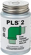Gasoila PLS2 Premium Pipe Thread and Gasket Sealer, -100 to 600 Degree F, 1/4 Pint Brush