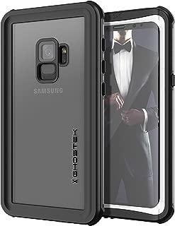 Ghostek Nautical Slim Underwater Waterproof Case Compatible with Galaxy S9 - White