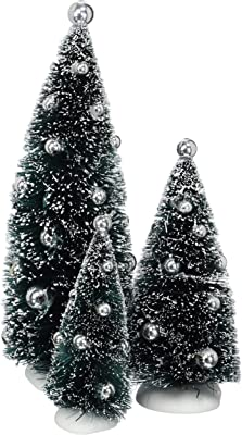 NEW Dept 56 Classic Frosted Green Light Bulb Holiday Christmas Tree Ornament