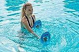 Fashy Erwachsene Ovale Hanteln Aqua Fitness, blau, One Size