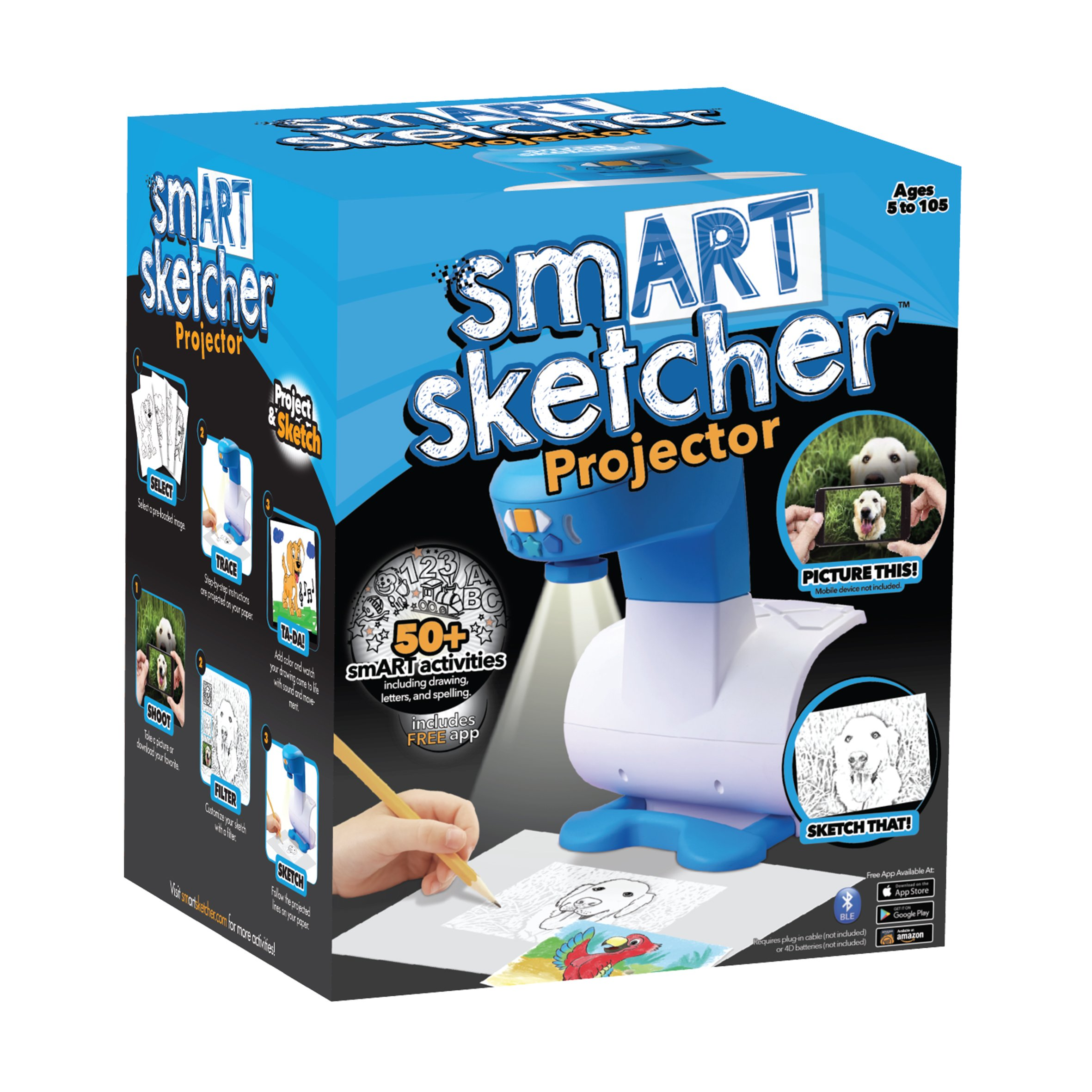 Smart Sketcher Proyector: Amazon.es: Juguetes y juegos