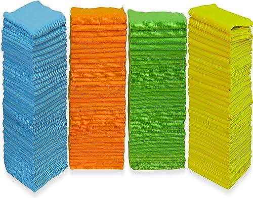 new arrival 150 sale outlet online sale Pack - SimpleHouseware Microfiber Cleaning Cloth, 4 Colors online sale