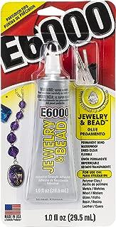 E6000 242001 Jewelry and Bead Adhesive - 1 fl oz