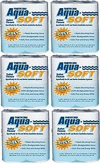 Thetford 03300 Aqua-Soft Toilet Tissue 2-Ply / 4-Pack Quantity 6