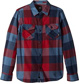 Vans Kids - Box Long Sleeve Flannel (Big Kids)