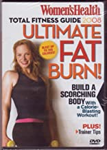 Women's Health Total Fitness Guide 2008 Ulitmate Fat Burn Dvd!