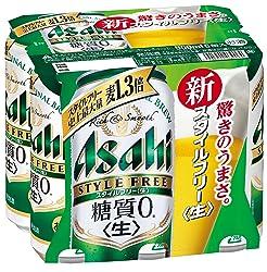 アサヒ スタイルフリー <生> 缶 500ml×6缶