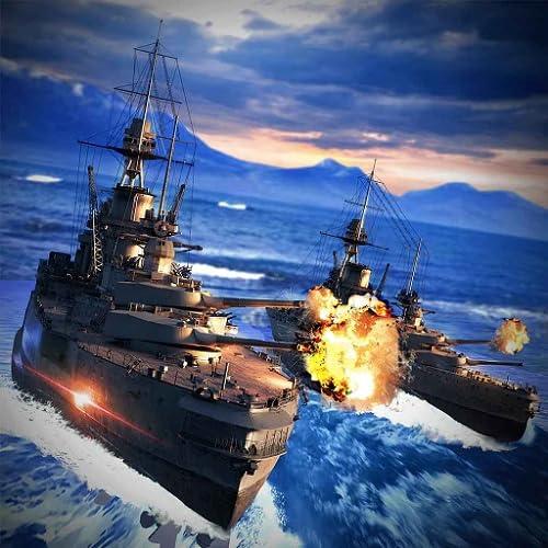 Schlachtschiffe Blitz: Seeschlacht der Kriegsschiffe Kampf Flotte Zerstörer