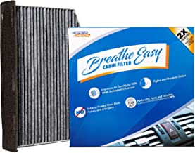 Spearhead Premium Breathe Easy Cabin Filter, Up to 25% Longer Life w/Activated Carbon (BE-373)