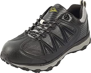 Safety Toe Athletic Shoes - Trainer Style, Steel Toe Sneakers