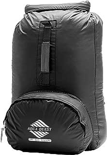 Aqua Quest Himal Backpack - 100% Waterproof 25L Dry Bag - Lightweight, Foldable, External Pocket - Black, Blue, Camo or Red
