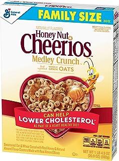 Honey Nut Cheerios Medley Crunch, Cereal, 20.9 oz Box