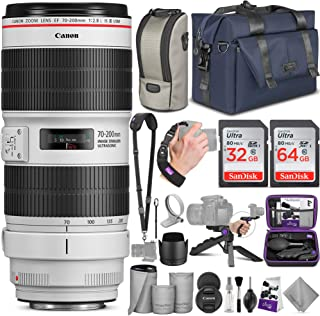 Canon EF 70-200mm f/2.8L is III USM Lens with Altura Photo Complete Accessory and Travel Bundle