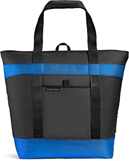 Rachael Ray Jumbo ChillOut Thermal Tote Bag for Grocery Shopping, Transport Cold or Hot..