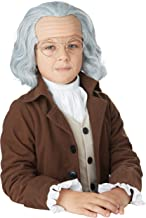 California Costumes - Benjamin Franklin Wig Child