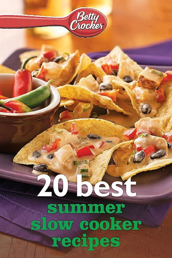 食欲肌ゴムBetty Crocker 20 Best Summer Slow Cooker Recipes (English Edition)