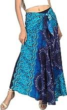Joop Joop 2 in 1 Boho Long Maxi Skirt Midi Dress Bohemian Loose Flowing Summer Travel Hippie Yogi Festival Casual Skirt