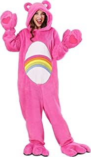 Adult Care Bears Costume Deluxe Cheer Bear Costume
