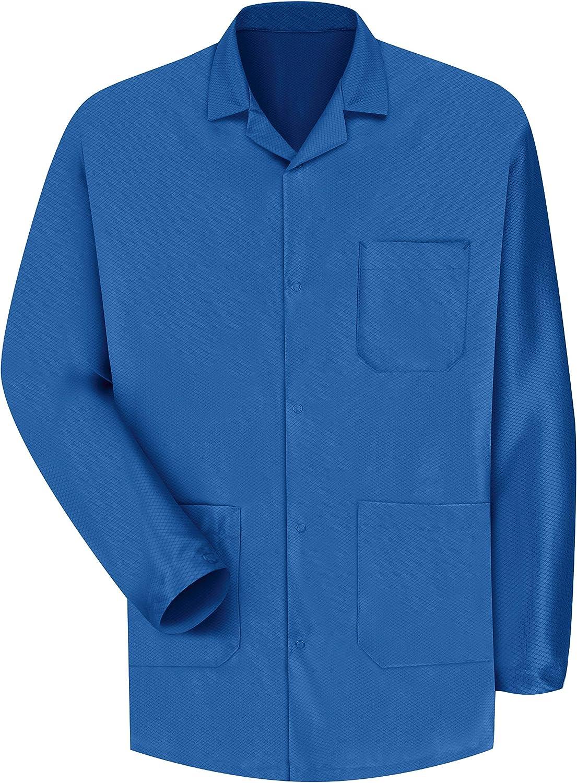 Red Kap Men's ESD Anti Stat Counter Jacket