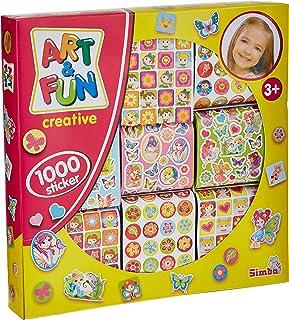 Simba Art & Fun Stickers, Multi-Colour, 106304174, 1000 Pieces