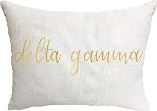 Delta Gamma Sorority Throw Pillow