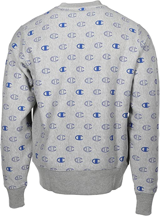 C Logo Spaced Oxford Grey